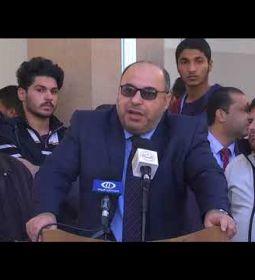 كلمة الدكتور عدنان الحجار،خلال وقفة تضامنية بمناسبةاليوم العالمي للتضامن مع الشعب الفلسطيني