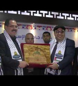 مشاهد من زيارة معالي وزير التربية والتعليم العالي، د.صبري صيدم لجامعة الإسراء-غزة