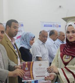 أجواء من البهجة والسعادة غمرت طلاب الثانوية العامة وذويهم خلال تكريمهم من جامعة الإسراء.