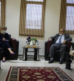 جامعة الإسراء تستقبل مديرة منظمة الصحة العالمية في قطاع غزة