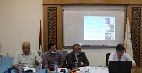 """مركز أبحاث الطاقة والبيئة بجامعة الإسراء ينظم يوم علمي  بعنوان """" تقييم آثار العدوان الاسرائيلي مايو 2021 على قطاعات الطاقة والبيئة والاقتصاد في قطاع غزة"""""""