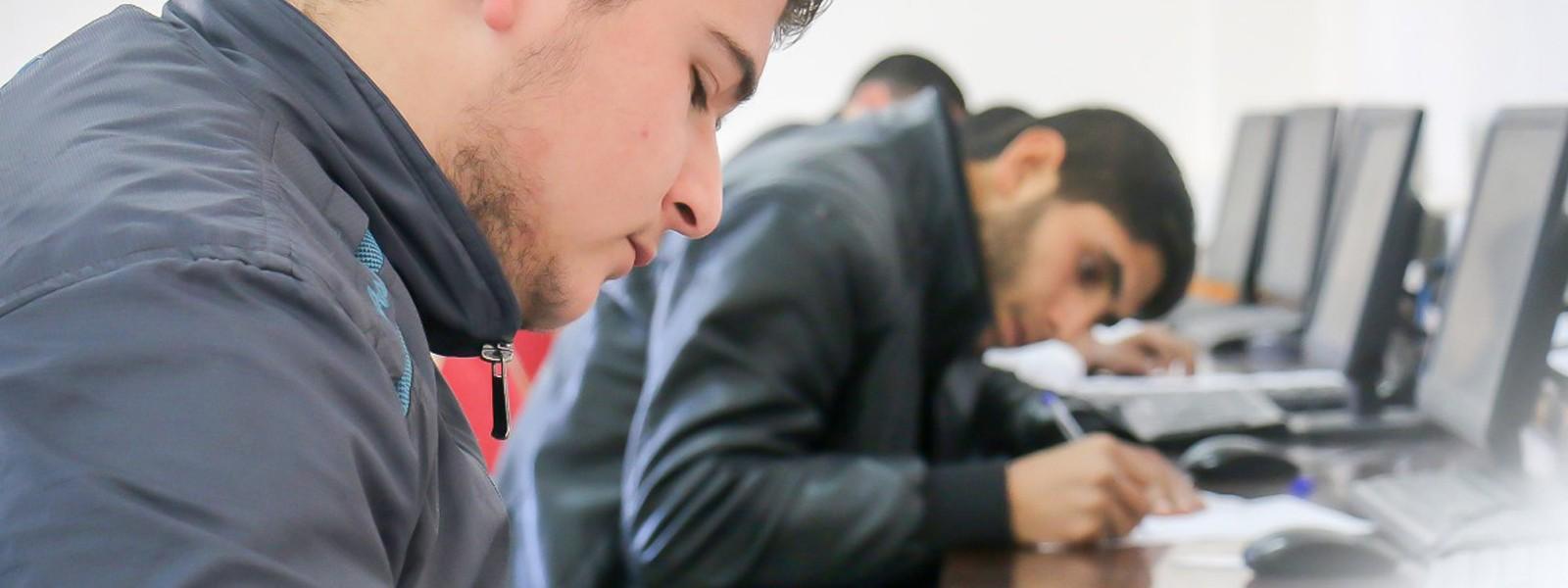 بدء الامتحانات النهائية للفصل الدراسي الأول في جامعة الإسراء