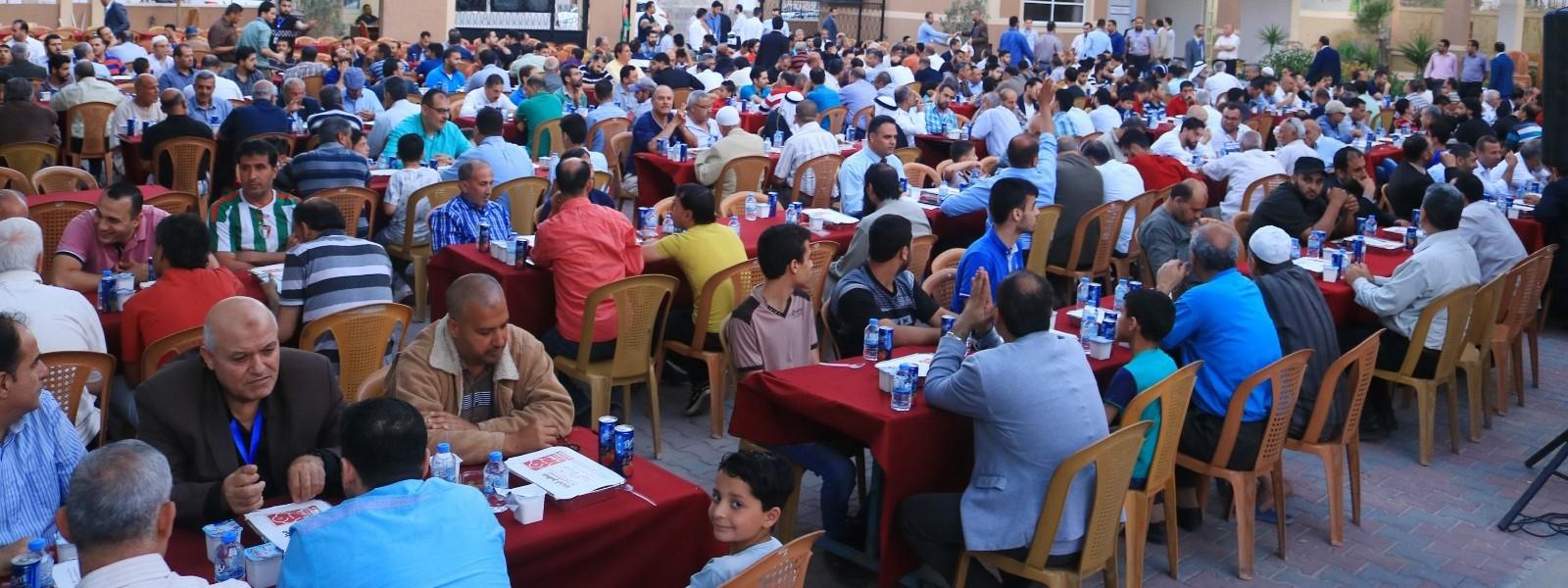 جامعة الإسراء تقيم افطارها الرمضاني السنوي الخامس